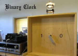 Binary Clock by Philip Mantione