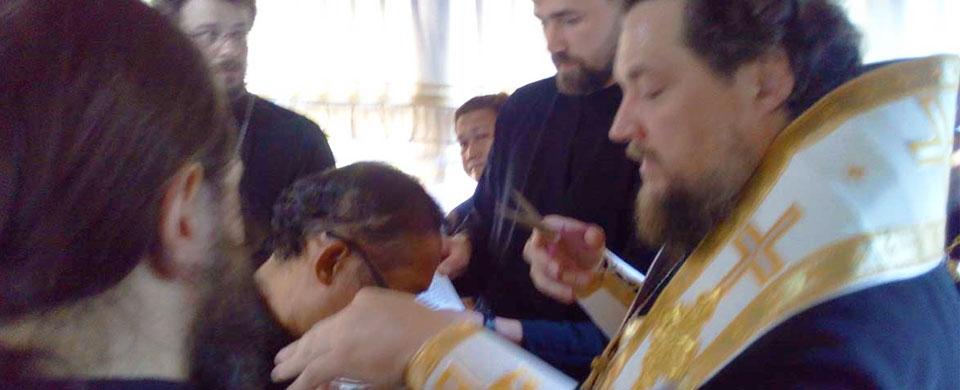 John Mahinay ordained to the Subdeaconate