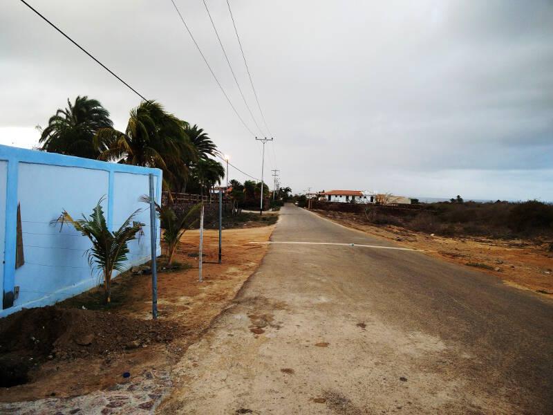 Dark cloudy morning brings much needed rain to Isla Margarita.