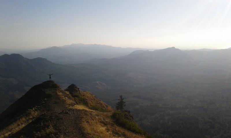 Saddle Mountain hike - Photo by Kelsey Cardwell