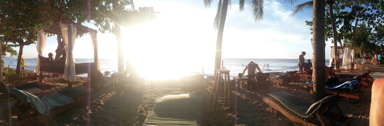 Sunset views from Club Ventos