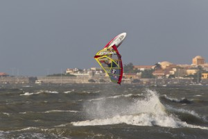 Windsurfing in Colombia