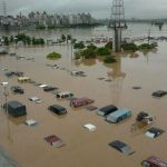 Taiwan Floods Caused 3,000 People Evacuated (Video)