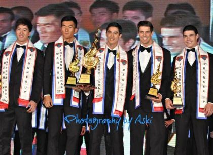 Manhunt International 2012 winners