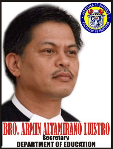 DepEd Secretary Armin Luistro