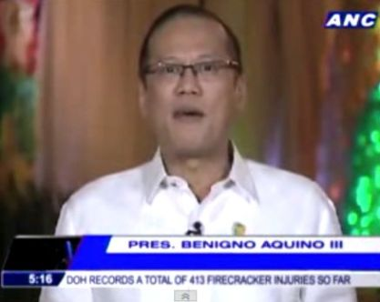 2013 PNoy Message to Filipinos Video