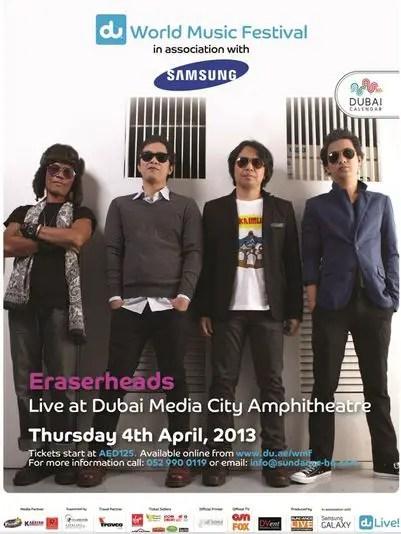 Eraserheads Dubai