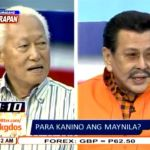 Mayor Lim vs. Erap Estrada Debate on Umagang Harapan (Video)