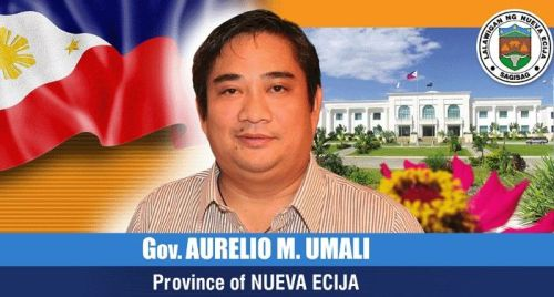 Oyie Umali Nueva Ecija Governor