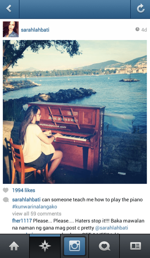 sarah lahbati instagram
