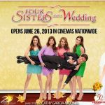 Four Sisters and a Wedding Box Office Income Reached P120 Million