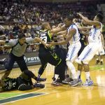 Pingris, Nabong and Devance Suspended Hayes Fined after Fistfight