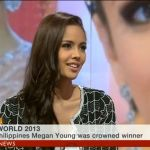 "Megan Young Interviewed by BBC's ""Impact"" (Video)"
