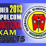 NAPOLCOM Superintendent Exam Results (Oct. 2013) List of Passers