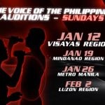 The Voice of the Philippines Season 2 Audition Schedule 2014 (Video)