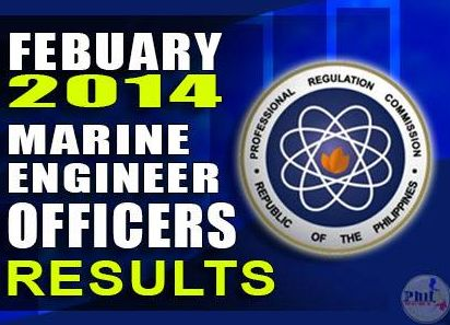 February 2014 Marine Engineer results