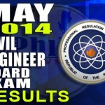 Civil Engineer Board Exam Results List of Passers (May 2014)