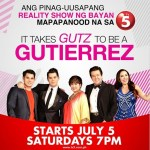 """It Takes GUTZ to Be a Gutierrez"" to Premiere on TV5 (July 5, 2014)"