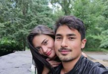 Pia Wurtzbach and Marlon Stockinger