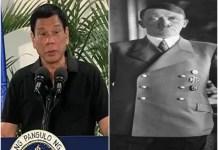 Duterte Comparing