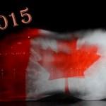 CC BY Jamie McCaffrey - Water Flag Canada Day Fireworks