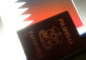 qatar visa stamping requirements