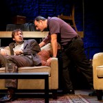 Dan Hodge and Joe Guzmán star in Passage Theatre' TRUE STORY (Photo credit: Mathias Goldstein)