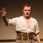 Jered McLenigan as Marc Antony (Photo courtesy of Mark Garvin)