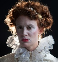 Krista Apple-Hodge portrays Queen Elizabeth I in the PAC's MARY STUART (Photo credit: Kate Raines, Plate 3 Photography)