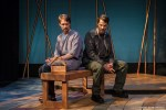 Ahren Potratz and Allen Radway in Simpatico Theatre Project's production of IN A DARK DARK HOUSE by Neil LaBute. Photo credit: by Daniel Kontz.