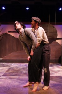 Sean Lally and Griffin Stanton-Ameison in EgoPo's GINT. Photo by David Cimetta.