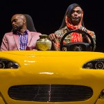 Forrest McClendon and Chivas Michael star in Center Stage's production of WILD WITH HAPPY (Photo credit: Richard Anderson)