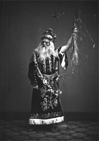 Forrest as King Lear, circa 1861. Photo credit: Matthew B. Brady.