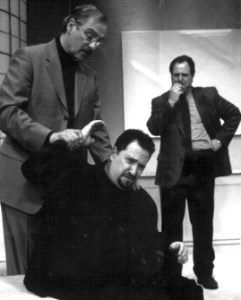 Producing artistic director Bernard Havard directed  Yasmina Reza's play ART in 2002. The production starred (from left) Carl Shurr, Ben Lipitz, and Robert Ari.
