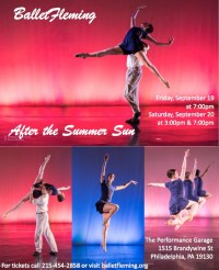 AFTER THE SUMMER SUN (BalletFleming): Fringe Review 72