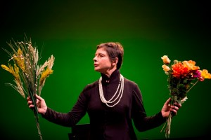 Isabella Rossellini in GREEN PORNO live (Photo credit: Marco del Curto)