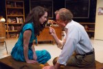 Clare Mahoney and Peter DeLaurier in Lantern Theater Company's QED (Photo credit: Mark Garvin).