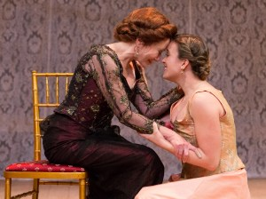 Mary McDonnell and Olivia Mell in THE CHERRY ORCHARD at People's Light (Photo credit: Mark Garvin)