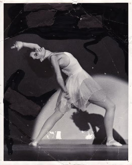 Denise Shubin dancing, 1981.