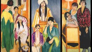 Three Sisters by Henri Matisse. Courtesy of the Barnes Foundation.