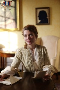 Jennifer Summerfield in American Historical Theatre's ELIZA POWEL: A MORAL DILEMMA (Photo credit: Kyle Cassidy).