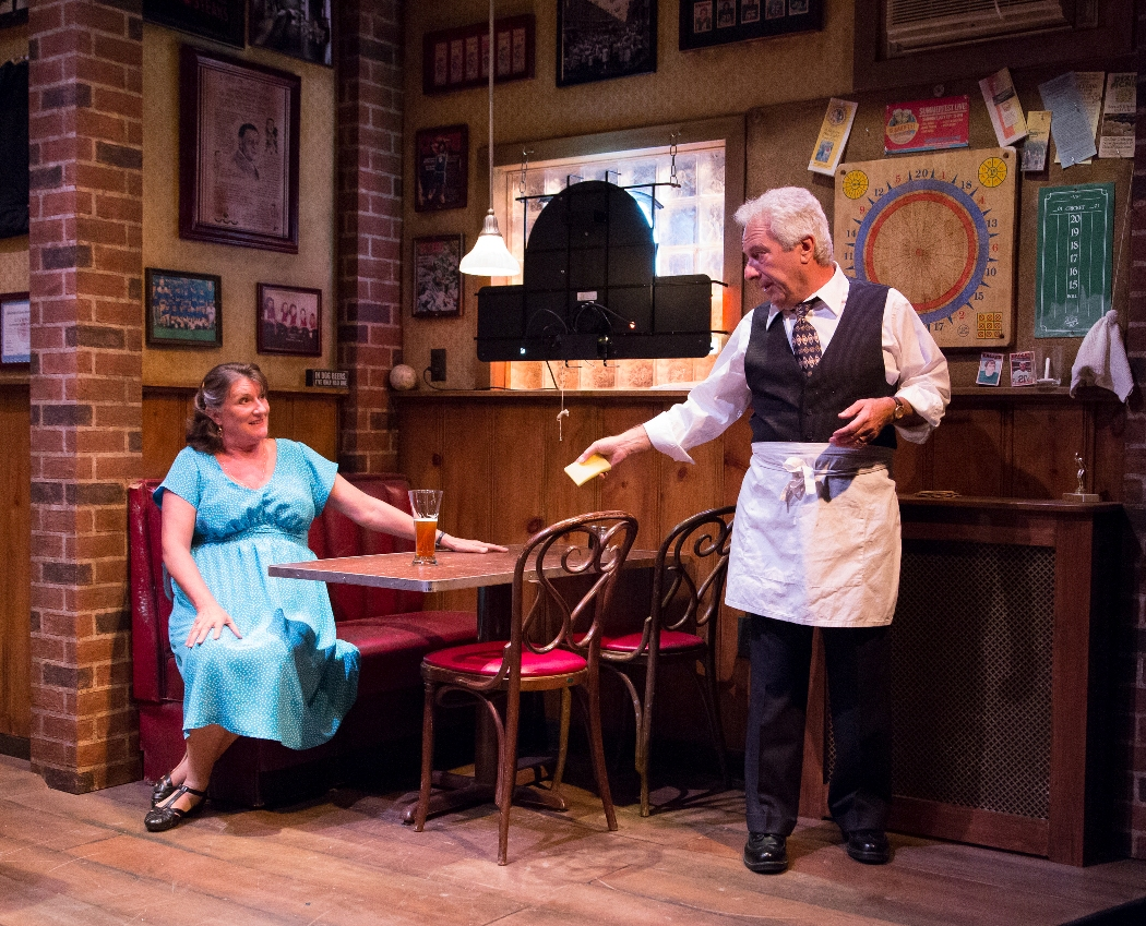 Marcia Saunders and Tom Teti in STELLA AND LOU at People's Light (Photo credit: Mark Garvin)