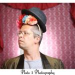 Brett Mapp all dressed up to Fringe. Photo by Plate 3 Photography.
