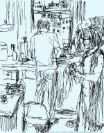 Fringe in Sketch 5: DISHWASHER (Brian Feldman)