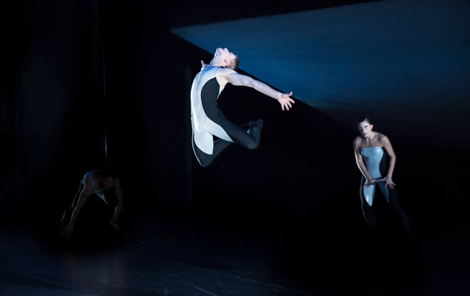 "Daniel Mayo and Francesca Forcella in Nicolo Fonte's ""Beasts"". Photo by Alexander Iziliaev"