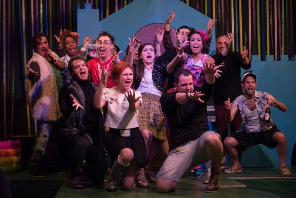 The ensemble of City Theater Company's LOVE'S LABOUR'S LOST (Photo credit: Joe del Tufo, Moonloop Photography)