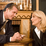 Richard Shoberg and Catherine Russell in PERFECT CRIME (Photo credit: Courtesy of DDPR)