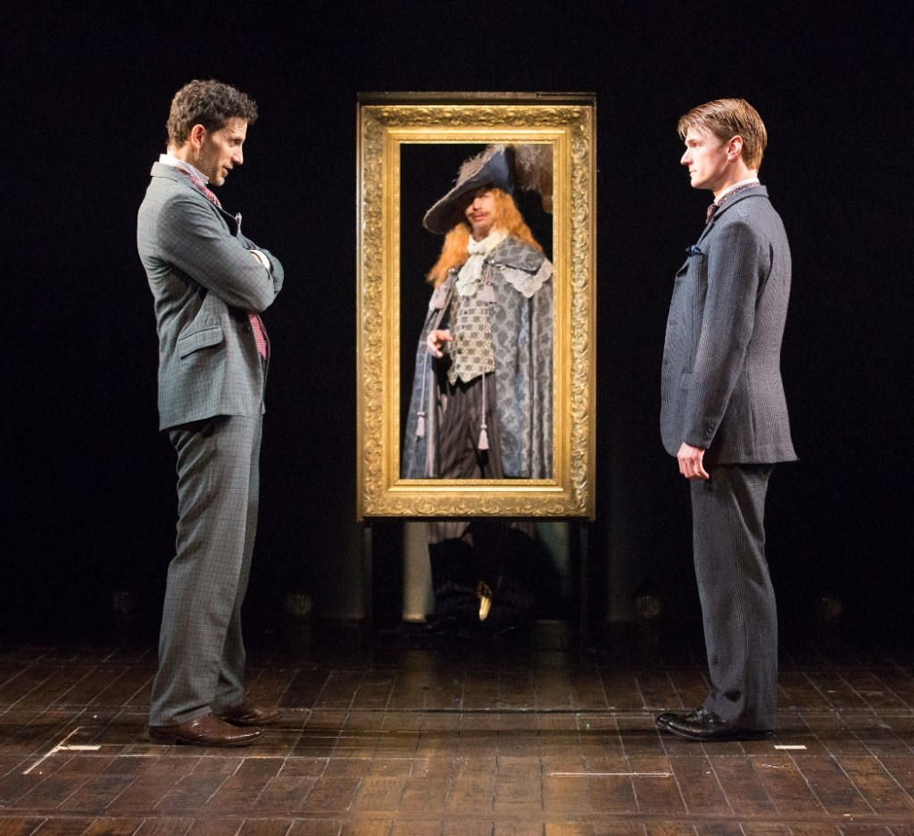 Ron Menzel, Adam Green, and Henry Clark in PTC's BASKERVILLE: A SHERLOCK HOLMES MYSTERY (Photo credit: Mark Garvin)
