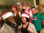 Santa Colucci and His Merry Philadelphia Theater Elves: Behind the scenes of a holiday video