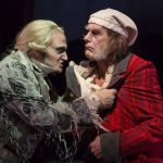 Billy Finn (left) and Graeme Malcolm in A CHRISTMAS CAROL. Photo by T Charles Erickson)